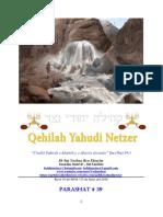 Parashat Juqát # 39 Adul 6018