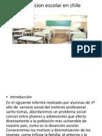 Desercion Escolar en Chile Diapo