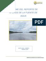 1.4 Informe Del Reporte de Aforos de La Fuente de Agua Santa Ana (1)