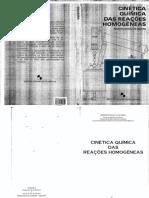 Cinetica Quimica Das Reacoes Homogeneas Benedito PDF