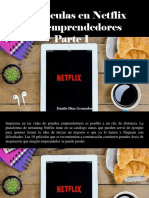Danilo Diaz Granados - 10 Películas en Netflix Para Emprendedores, Parte I