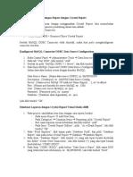 Pembuatan Dan Penyetingan Report Dengan Crystal Report
