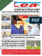 Periódico Lea Viernes 28 de Septiembre Del 2018