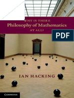 Ian Hacking- Why Is There Philosophy of Mathematics At All Cambridge.pdf
