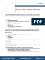 Cell Culture Protocol for Melanoma Cell Lines
