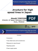 Infrastructure High Speed Lines Japan