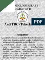 FARMAKOLOGI X SEMESTER 2 ANTI TBC.ppt