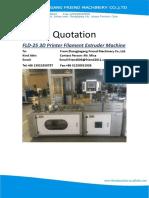 1_FLD-25 3D Printer Filament Machine