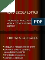 Técnica de ensino e didática