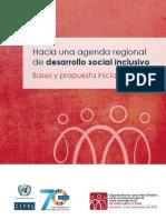 Hacia una agenda regional de desarrollo social inclusivo