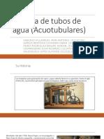 CALDERA DE TUBOS DE AGUA