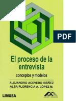 Acevedo Ibanez Alejandro El Proceso de La Entrevista PDF.pdf