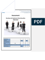 Develop an organisational marketing plan Assessment 1