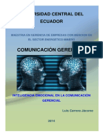Monografía Comunicación Gerencial