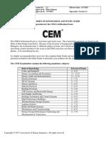 CEM BodyofKnowledge StudyGuide