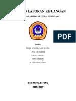 DIAN S K MASOARA SEMESTER 7 AKUNTANSI RANGKUMAN ALK (ANALISIS AKTIVITAS PENDANAAN).docx