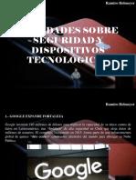 Ramiro Helmeyer - Novedades Sobre Seguridad y Dispositivos Tecnológicos
