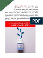 PROLQ Kulon Progo 0812 – 3029 – 0077 (tsel), Agen PROLQ Kulon Progo