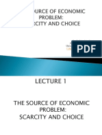 Lecture 1 - Scarcity and Choice.ppt