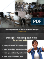 Design Challenge Modern Education Change Powerpoint