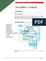 Cooling Water System, V-Engines
