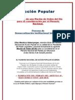 Mocion Plenario AP