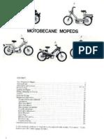 Bedienungsanleitung Motobecane 50 ccm