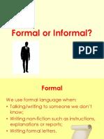Formal or Informal Ppt