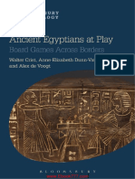 Ancient Egyptians at Play- Board Games Across Borders