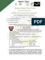 Últimas instrucciones Alpujarra Magna 2018