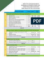 Anggaran Dana Ppdb