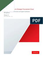 Strategic Procurement Cloud Integration Options R13