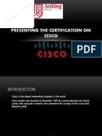 Presenting the Certification on Cisco.pptx