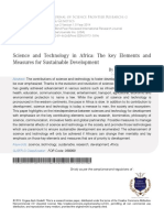 4 Science and Technology in Africa(1)