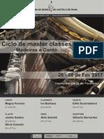 Brochura Ciclo de Masterclasses