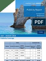 PR-Publicity Report July August 2018