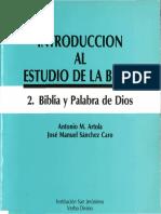Antonio Artola - 02 Biblia y palabra de Dios.pdf