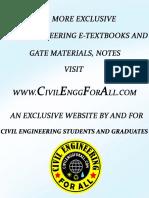 Environmental Engineering - 2 (Waste Water Engineering)
