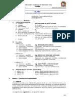 Silabo Instalaciones en edificaciones -2018 i (z.m.v.)