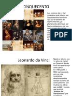 Pintura Renacimiento Italia Cinq