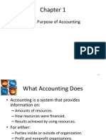 AFM Chapter 1 Purpose of Accounting