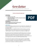 VBC Newsletter Sep18