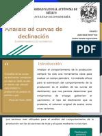 ANÁLISIS DE CURVAS DE DECLINACIÓN