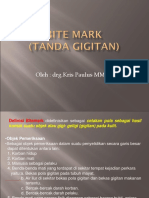 Bite MarK Tanda Gigitan)