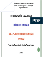 Processos de Fundicao Parte 2