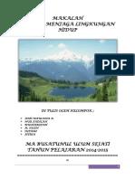 Makalah Pelestarian Lingkungan Hidup.docx