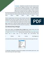 Cara membuat blog  di blogger.docx