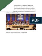 La Carta Internacional de La Educación Física y El Deporte de La UNESCO
