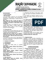 Folheto 12 de Abril de 2015 - 2⺠Domingo Da Pã-scoa