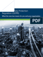 122767 General Data Protection Regulation Gdpr
